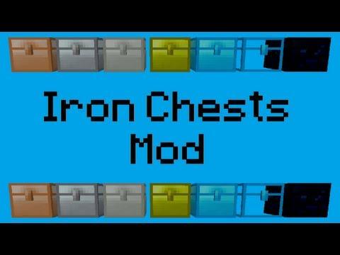IRON CHESTS! | Minecraft 1.5.2 Sorenus Mods 91
