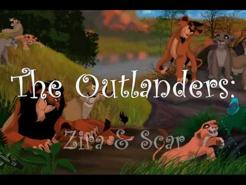 The Lion King: Outlanders-Zira and Scar