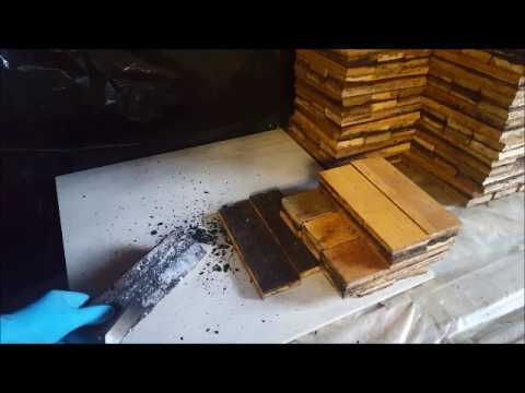 Cleaning Parquet Woodblocks