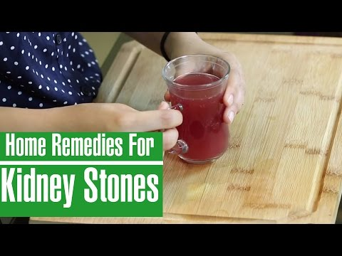 2 Best Home Remedies For KIDNEY STONES PAIN RELIEF In Women