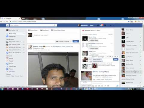 how to create a group chat group for facebook Create a facebook Group Bangla Tutorial