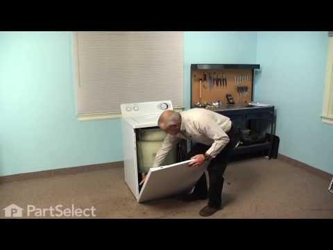 Washing Machine Repair - Replacing the Drive Belt (GE Part # WH1X2026)