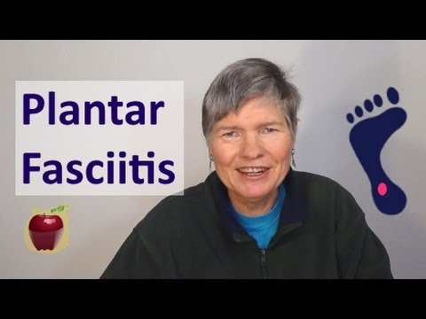 Plantar fasciitis. also back of heel pain