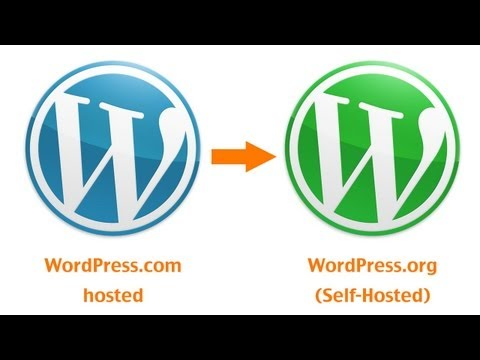 Migrate WordPress.com to WordPress.org - From Hosted to Self-Hosted Blog