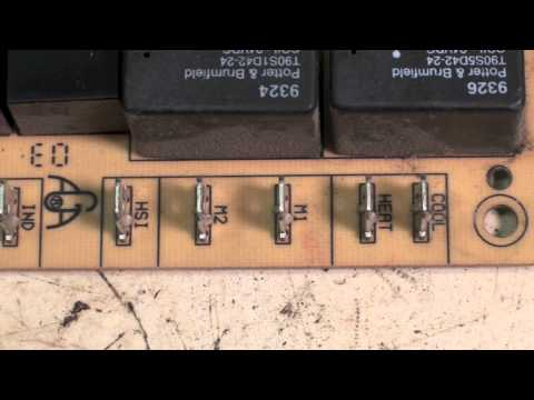 How to change the fan motor speed on a gas furnace