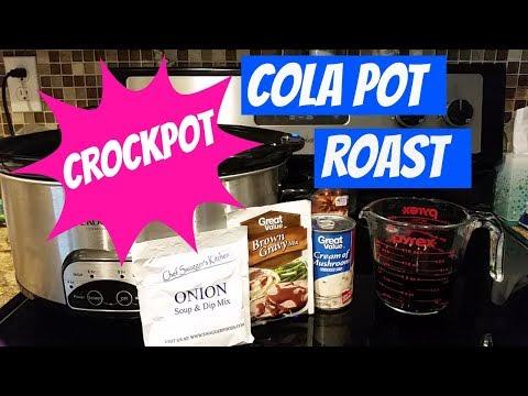 CROCKPOT COLA POT ROAST~FOODIE FRIDAYS!