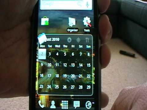 2.2 FroYo (Alpha) on Samsung Galaxy I9000 (Great phone : Poor Vid:))
