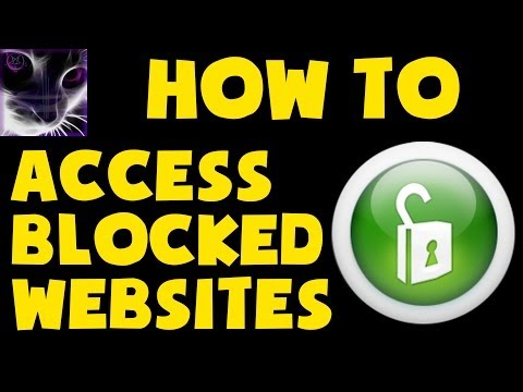 HOW TO Access Blocked Websites / Bypass ISP Filters