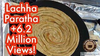 Flaky Layered Paratha | Lachha Paratha | lachay dar paratha food recipe (Cooking with Asifa)