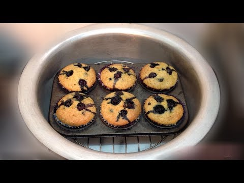 Healthy Blueberry Carrot Muffins | Without Butter  Without Oven Muffin Recipe