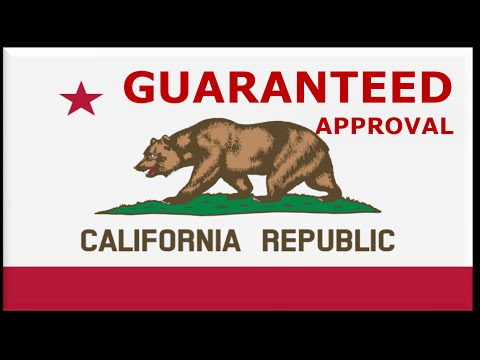 California State Car Financing : Bad Credit No Money Down Auto Loans Guaranteed Approval at Low Rate