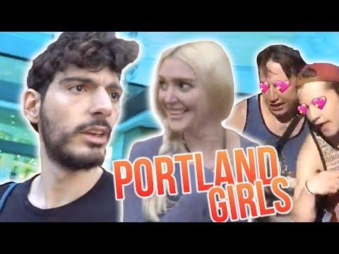 How I Flirt With Girls! (RV Tour - Portland)