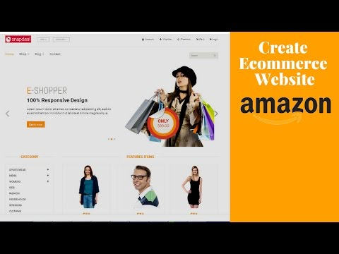 How To Create E-Commerce Website In || Wordpress2017  ||Using html.css.js Php