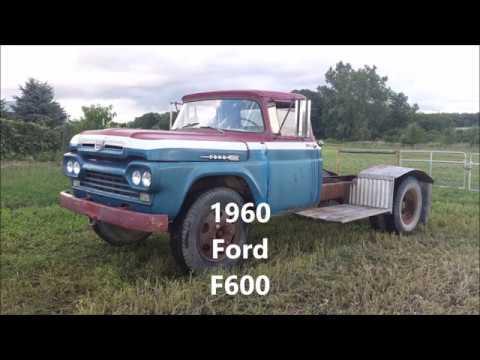 1960 Ford F600 Stake Truck
