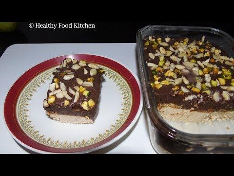 Biscuit Pudding Recipe - Easy Dessert Recipe - Eggless Biscuit Pudding recipe - Pudding Recipe