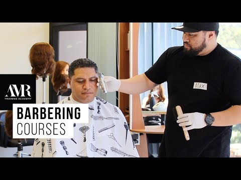 AMR Training Academy | Barbering courses: How to Haircut Tattoo and Fade Hair