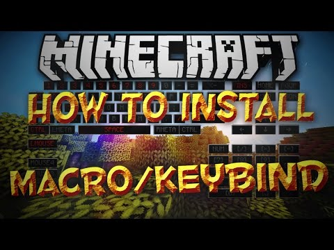 Minecraft 1.8: How To Install Macro/Keybind Mod!