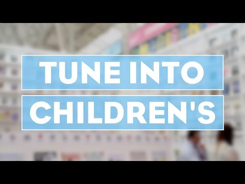 Tune into Children's at #LBF18