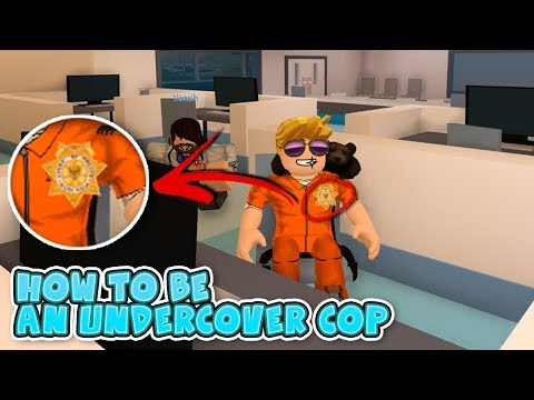 (JAILBREAK UPDATE) HOW TO GET THE PRISONER OUTFIT AS A COP !!
