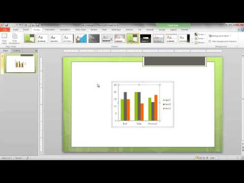 Link an Excel Chart to PowerPoint