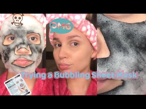 Bubbling Sheet Mask Dermactin Sally Beauty Finds| First Impression