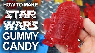 How To Make Star Wars Gummy Candies