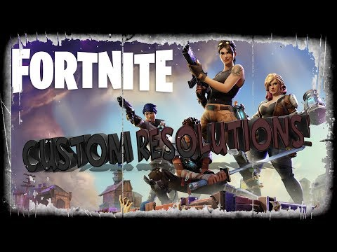 Fortnite | How to create a custom resolution *NEW UPDATED VIDEO IN DESCRIPTION*