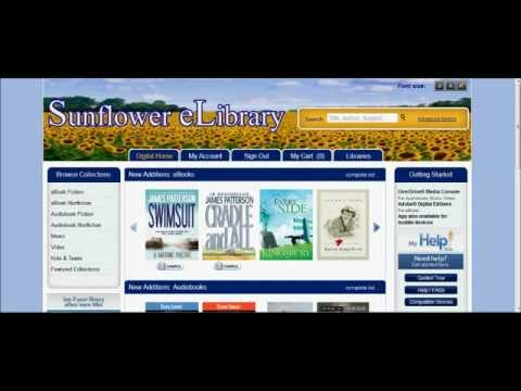 Sunflower E-Library- How to Download EPUB E-Books to your Nook