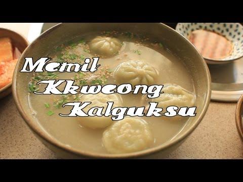 Memil Kkweong Kalguksu, Jeju [Korean food #17]