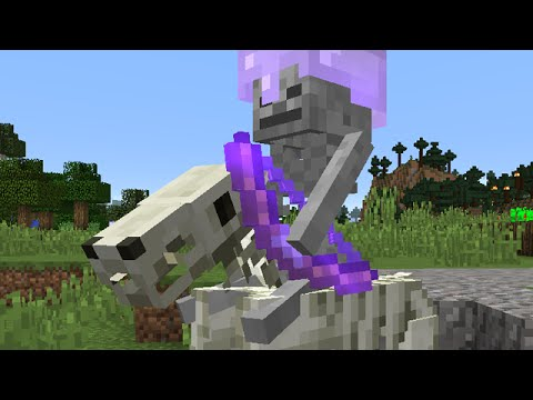 Minecraft: New Skeleton Horse Jockeys And More! (Snapshot 15w36d/15w37/15w38)