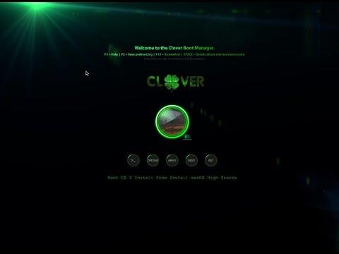 Clover Boot Disk – Create macOS High Sierra bootable USB from Windows
