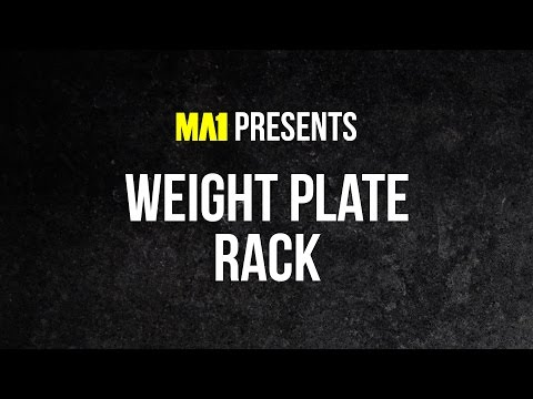 MA1 Elite Plate Rack