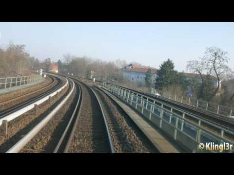 [4K] Führerstandsmitfahrt S-Bahn Berlin Südkreuz - Spindlersfeld S47 BR485