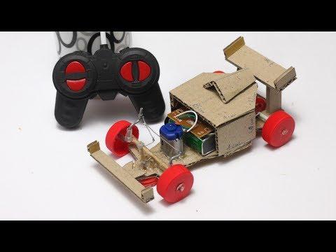 DIY Formula 1 Car using Remote Control at Home