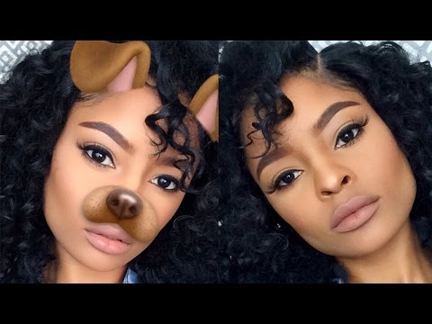 EVERYDAY MATTE MAKEUP | INSTA BADDIE MAKEUP TUTORIAL