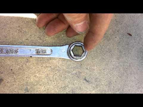 how to loosen a frozen bolt on a driveshaft yoke