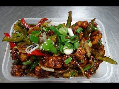 Indian Street Food Paneer Chilli, a priviliged peek inside the kitchen of Rose Restaurant Kingsbury
