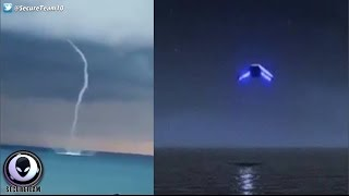 UFOs Sucking Up Water From Oceans Around The Globe! 1/23/17