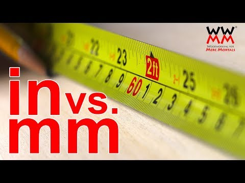 Metric or Imperial Measurements: Does it matter in the workshop?