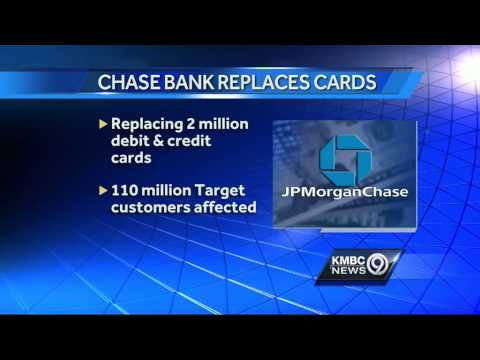 JPMorgan Chase replacing 2 million debit, credit cards
