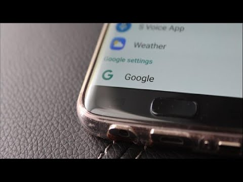 """How to Access the """"Google Settings"""" App on the Samsung Galaxy S7"""
