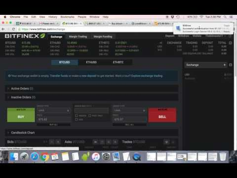 How to use Bitfinex to buy Bitcoin