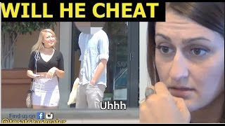 Girl tests her boyfriend with a PORNSTAR! DID HE CHEAT?!