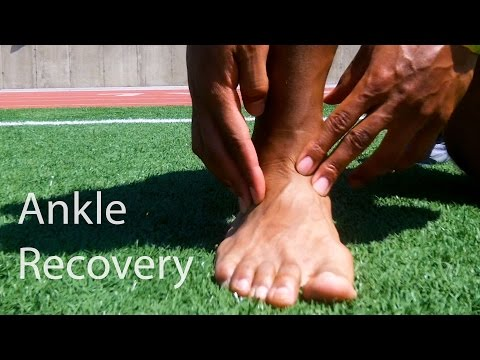 How To Recovery From A Ankle Sprain