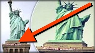 VANDALS! YOU WILL BE RED WITH RAGE WHEN YOU SEE WHAT LIBERALS JUST DID TO THE STATUE OF LIBERTY
