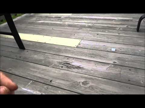 How To Flip A Deck Board (Refinishing A Deck)