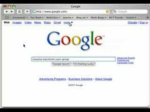 The Difference Between a Web-Browser and a Search-Engine
