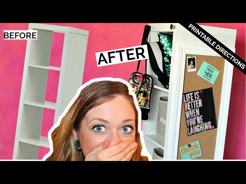 DIY CUBE ORGANIZER HACK! | Laci Jane DIY