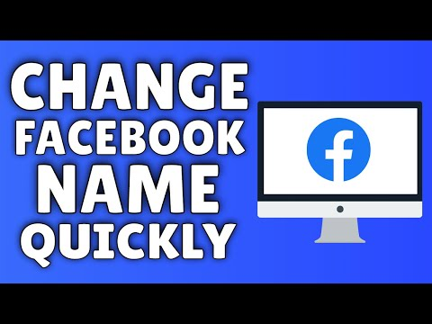 How To Change Your Facebook Name | How To Change Your Name On Facebook FAST
