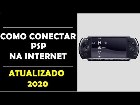 conectar PSP na Internet (via Wireless) sem fio
